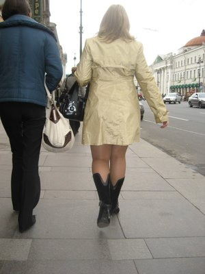 St.Petersburg - Russian fashion statement