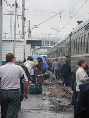 Transsiberian - Rainy stop