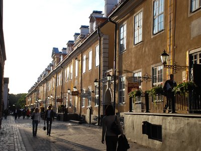 Riga - Street in the evening sun (Old town)