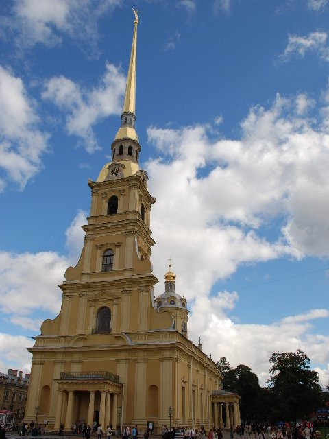 St.Petersburg - Cathedral of Saint Apostles Peter and Paul