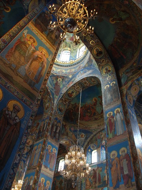 St.Petersburg - Church of the Saviour on the Spilt Blood (interior)