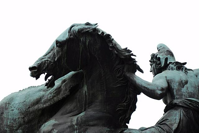 Berlin - statue