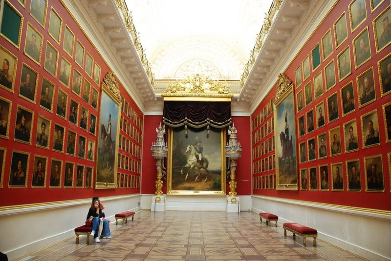 St.Petersburg (Hermitage) - Room