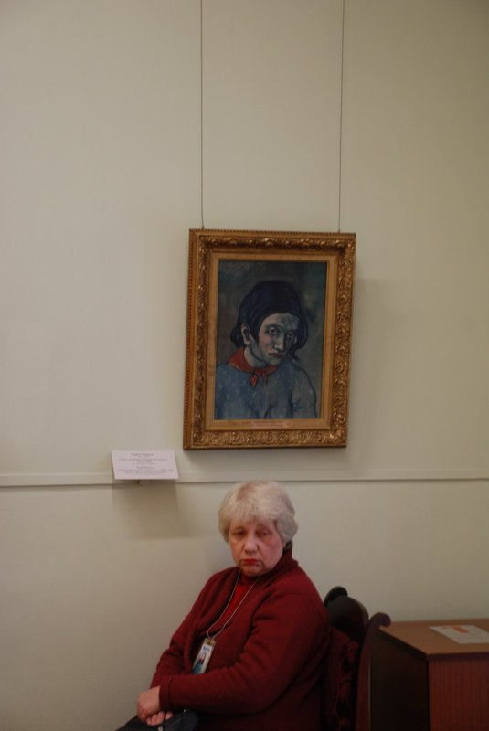 St.Petersburg (Hermitage) - Head of a woman, by Picasso