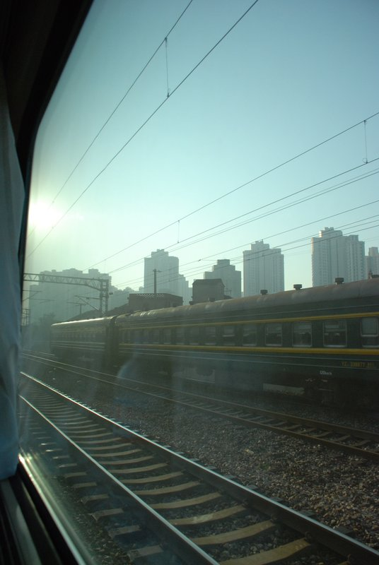 Train to Shanghai - View
