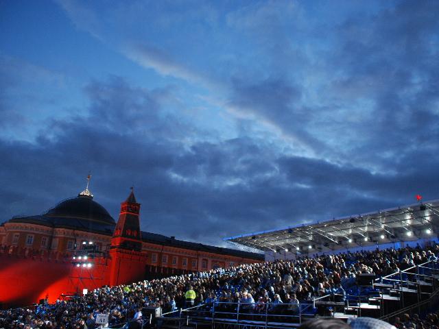 Red Square Tatoo -