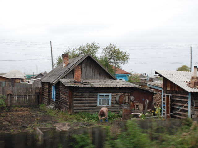 Transsiberian - Typical house