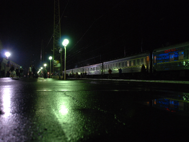 Transsiberian - the train