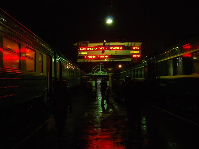 Transsiberian - Arriving in Irkutsk