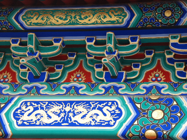 Beijing - Temple of heaven park, detail