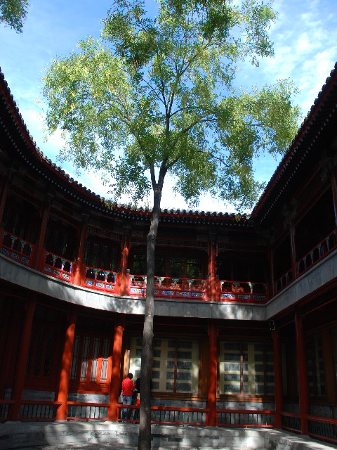 Beijing - Courtyard at Beihai Park
