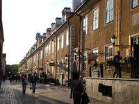 Riga - Street in the evening sun (Old town)
