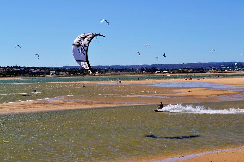 Kitesufing spot