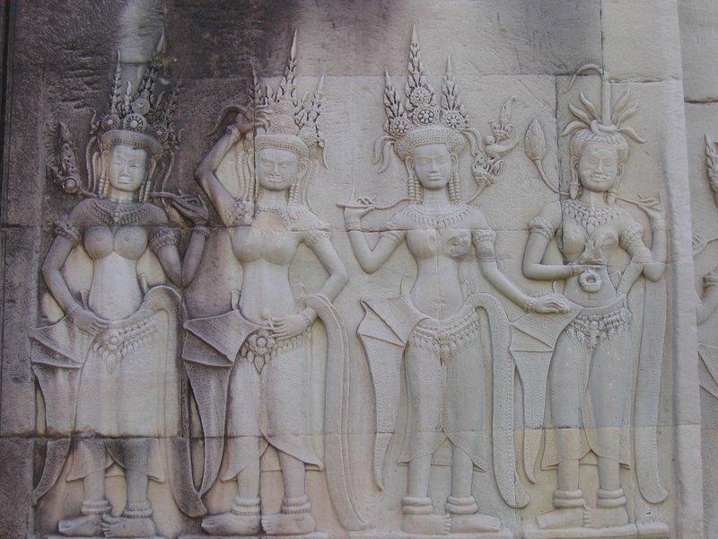 Angkor Wat Wall Carvings