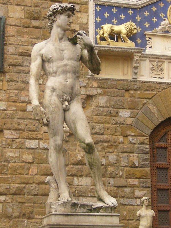 David y el Palazzo Vecchio