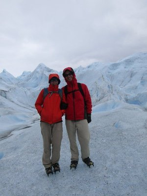 Us on the glacier