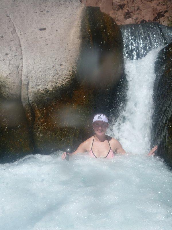 Waterfall in Puricama