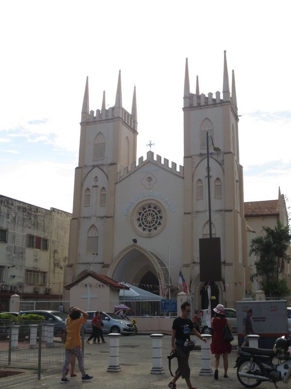 Catholic church, though the country's official religion is Islam