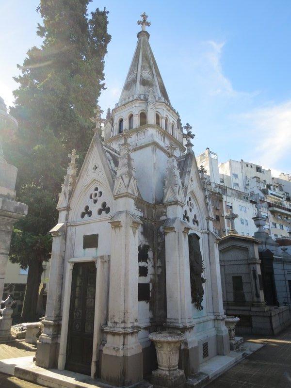 Tomb in La Recoleta