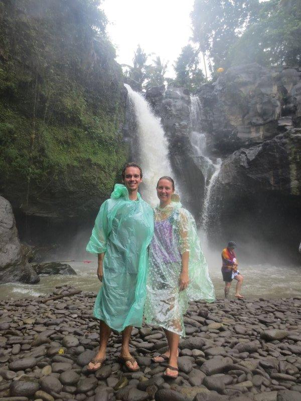 Waterfall outside of Ubud