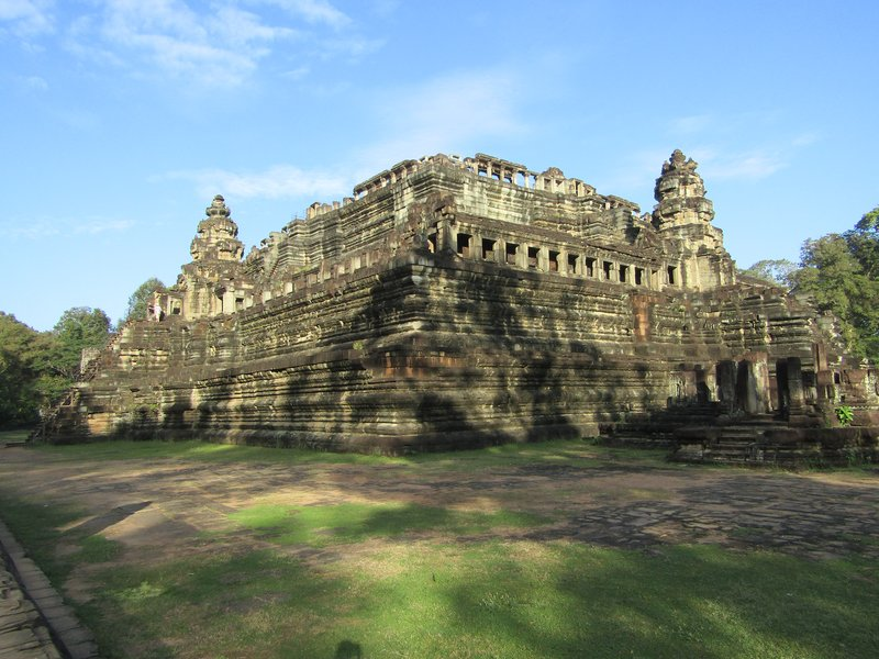 A temple in Angkor Tom
