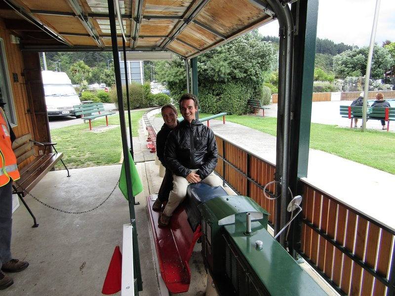 A 20 cent train ride in Picton