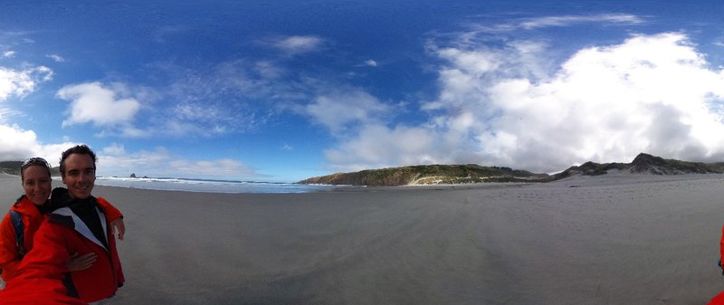Amazing beaches on the Otago Peninsula
