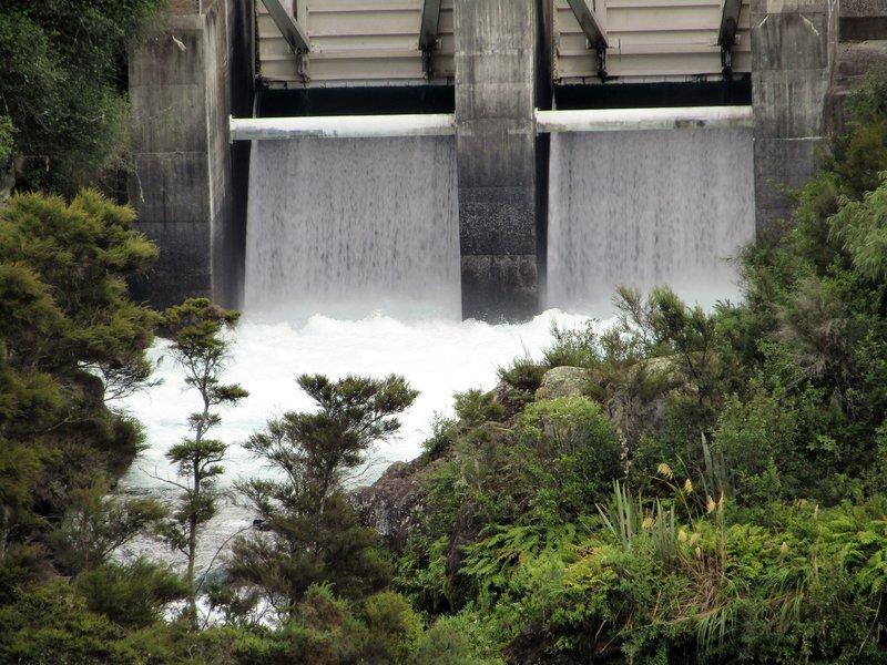 Aratiatia rapids release