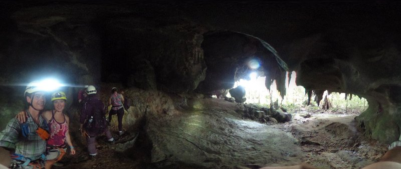 At Racer Cave entrance (2)
