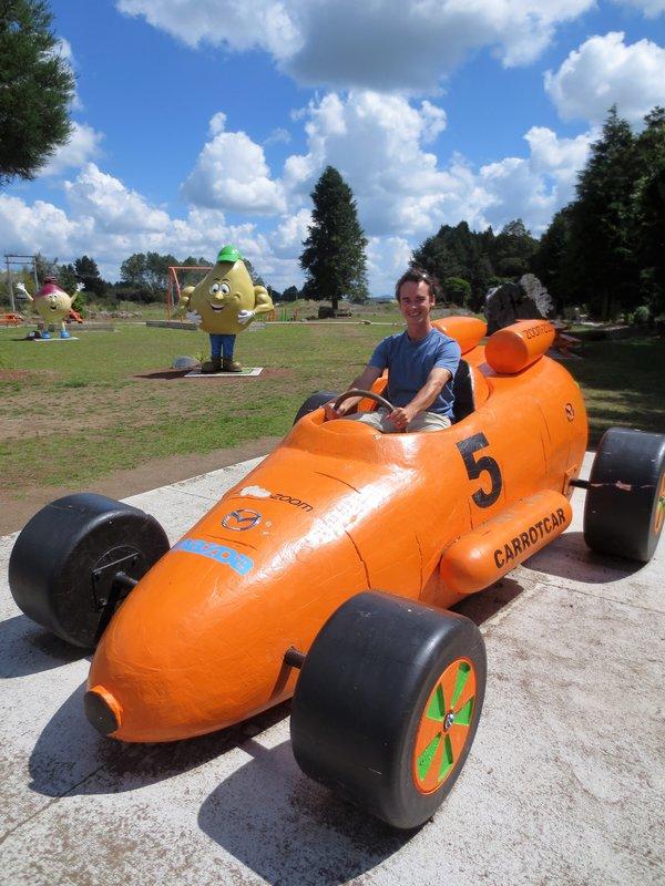 Carrot car in Okhune