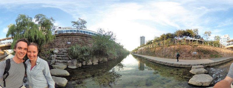 Cheonggycheon river