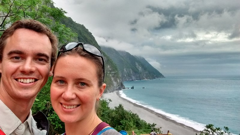 Chingshui cliffs along the coast