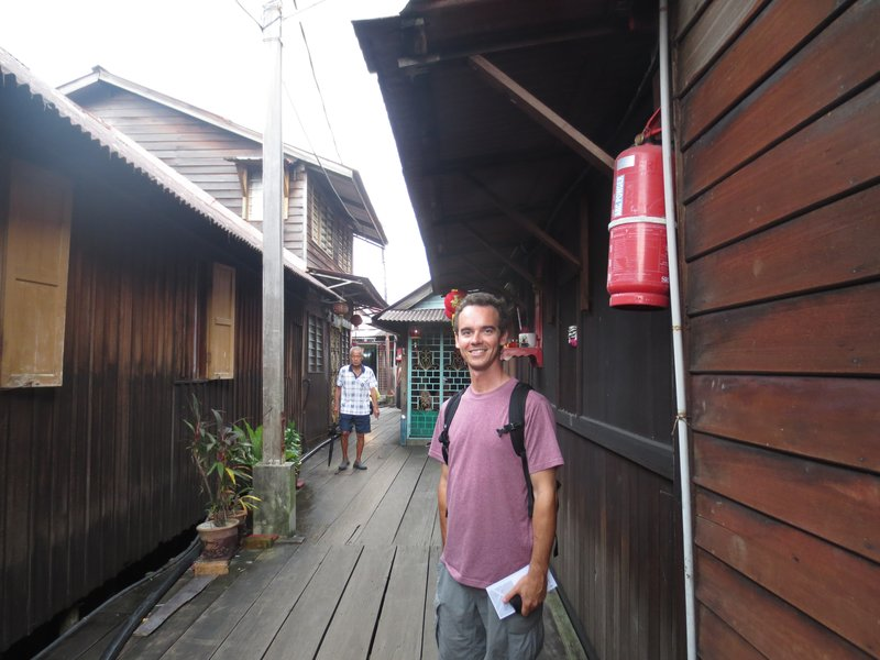 Clan jetty in George Town, where locals still live in stilt houses