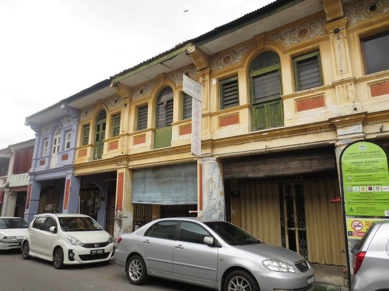 Colonial Dutch architecture in George Town