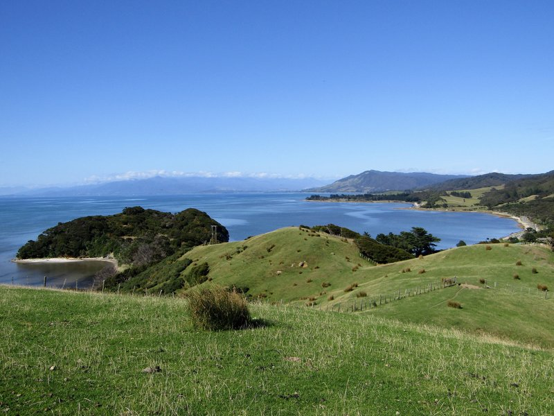 Farewell Spit, the northernmost point of the south island