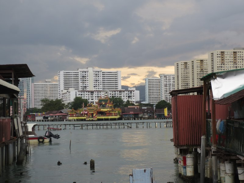 George Town from the jetty