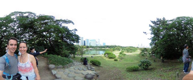 Hamarikyu park