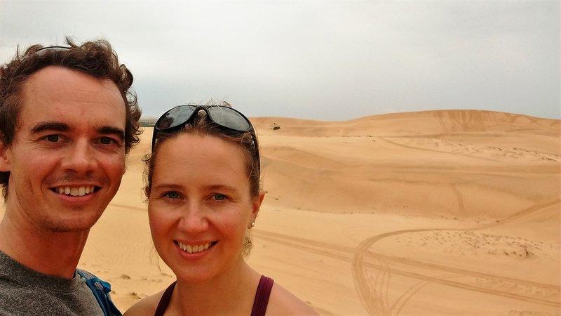 Whites sand dunes