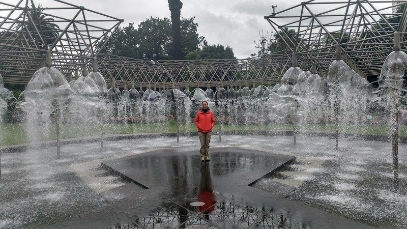 Fountain near the Parliament