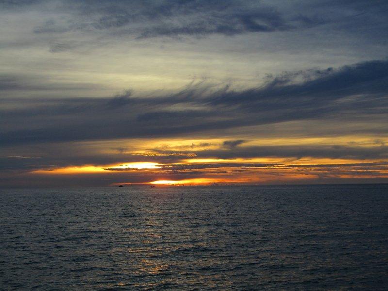 Mabul sunset