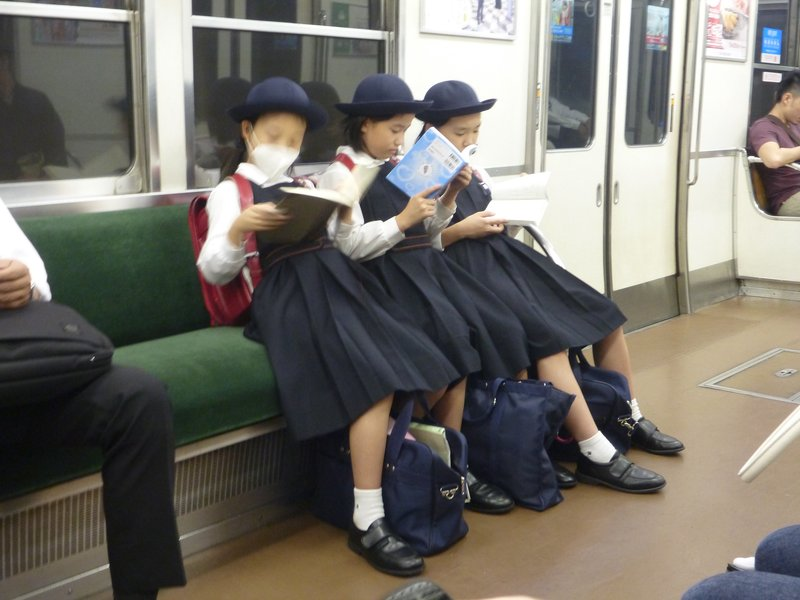 I love the school uniforms