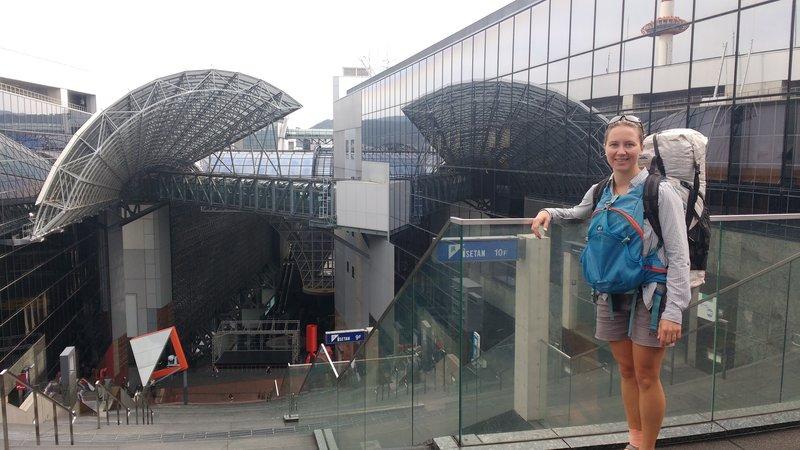 Kyoto main train station