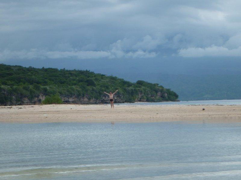 Loic on Menjangan Island