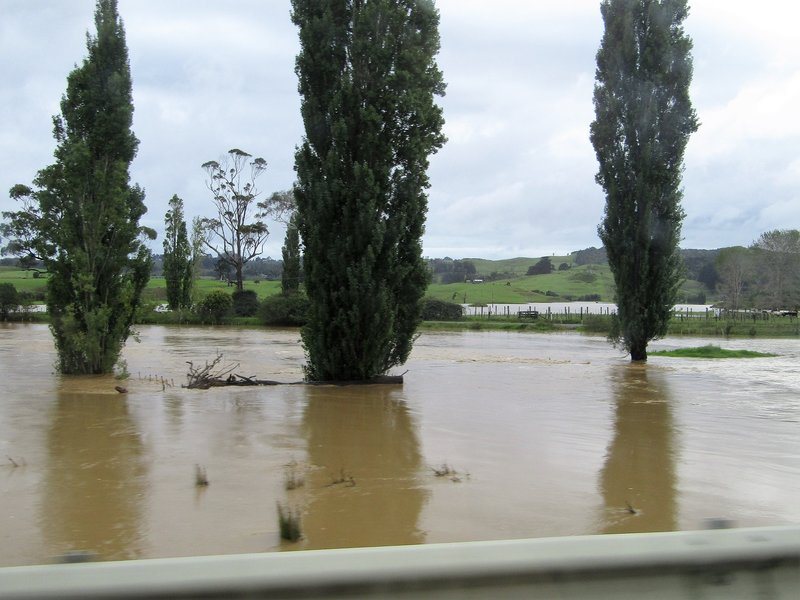 Lots of flooding after 4 days of rain