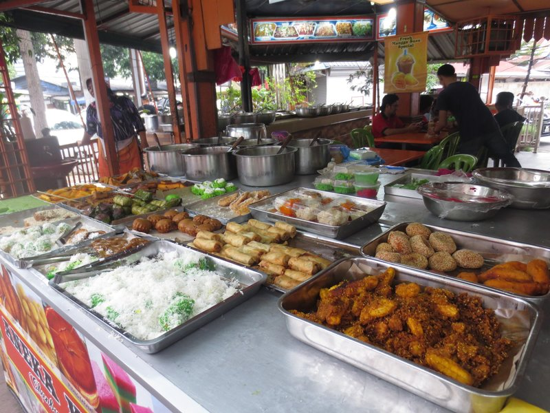 Malaysian desserts- none that we tried were good!