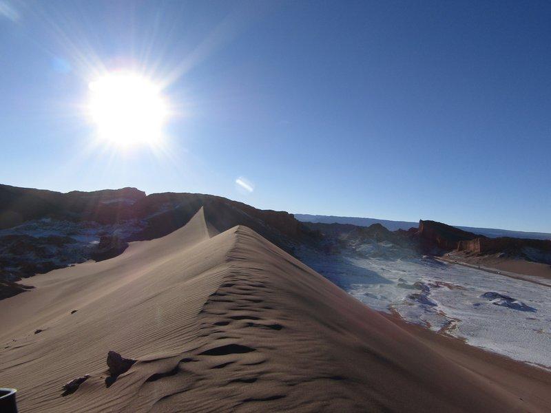 Moon valley sand dunes