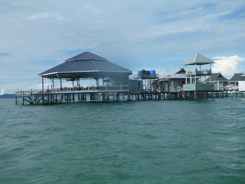 The resort jetee & restaurant