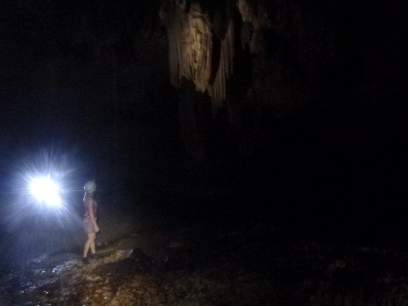 Stalactites in the dark