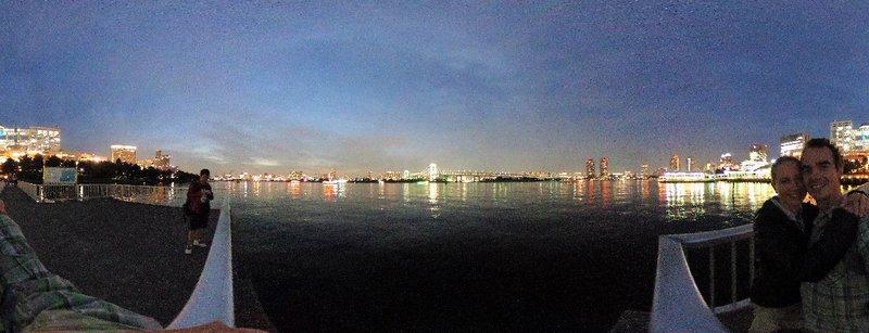 Sea side walk