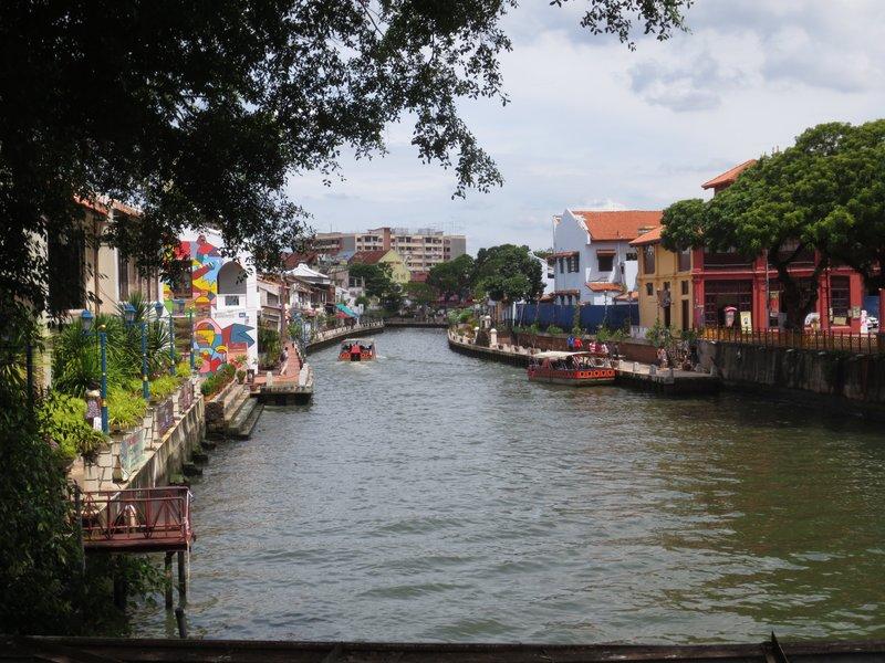 River cruises through the city